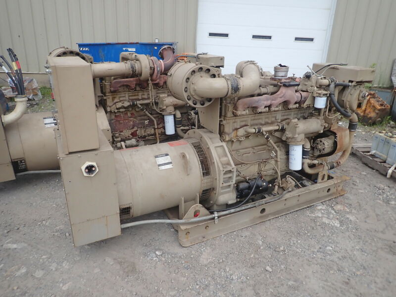 Cummins 440FD 135 KW Generator SUPER LOW HRS! 855 Diesel 3PH 480 Genset