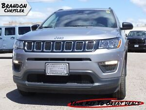 2018 Jeep Compass Sport ~ Rear View Camera, Heated Seats!