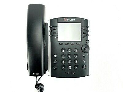 Polycom Vvx400 Voip Corded Business Poe Office Desk Phone