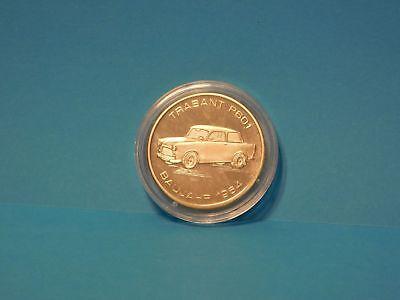 TRABANT P601 Baujahr 1964 Münze / Medaille