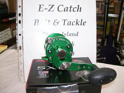 Brand New USA Made Right Handed Avet SX Fishing Reel GREEN Single Speed 5:3:1