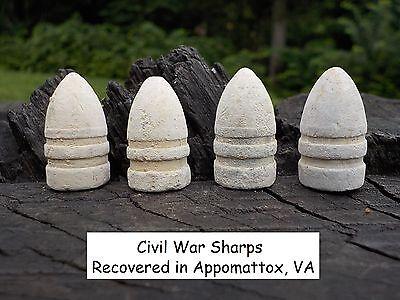 Old Rare Vintage Antique Civil War Relic Confederate Sharps Miniball Appomattox