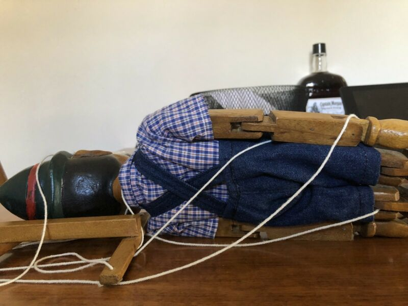 Collectable Wooden String Puppet Pinocchio | Collectables | Gumtree  Australia Vincent Area - Mount Hawthorn | 1205961168