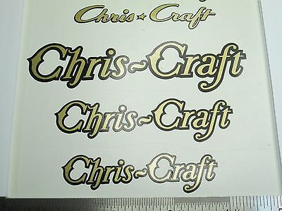 CHRIS CRAFT Dumas Typhoon  Wooden  Boat VINTAGE 1930-50's STYLE VINYL DECAL NEW!