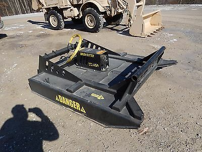 70 Heavy Duty Bobcat Skidsteer Mower Bush Hog Brush Cutter Attachment Skid