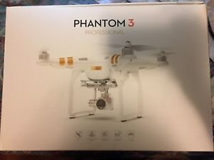 BRAND NEW DJI Phantom 3 Professional Quadcopter Drone bundle