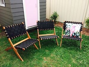 Strap / Woven Folding Chairs