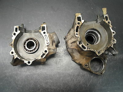 1990 90 POLARIS TRAIL BOSS 250 FOUR WHEELER 2X4 ENGINE CRANKCASE CRANK CASE
