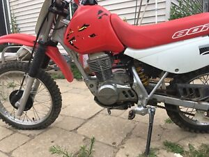 Honda xr 80 clean with plate