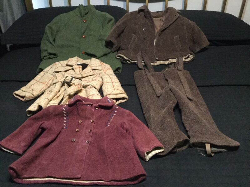Vintage Childrens Outerwear Lot