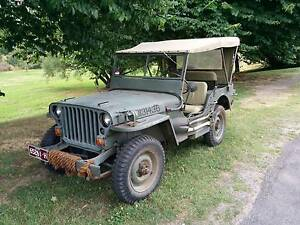 1943 Ford Willys GPW Military Jeep Beechworth Indigo Area Preview
