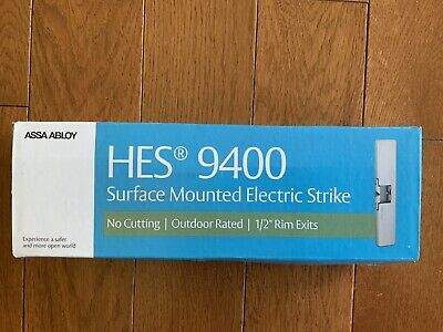 Assa Abloy Surface Mounted Electric Strike Hes 9400 New In Box