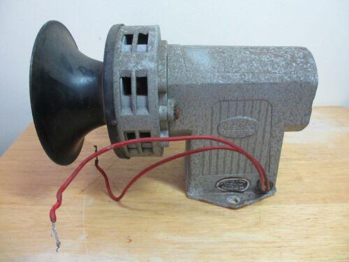 Vintage Ademco 110/120 Volt AC Alarm Siren, No. 66, Boy is this Loud!