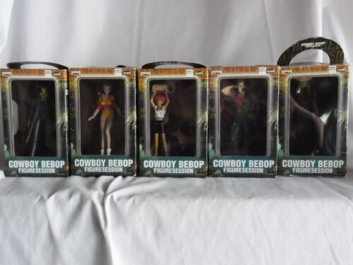SUNRISE Cowboy Bebop Figure Session ALL 5 Characters Completed Set