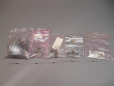 Mixed Lot Of 500 Allen Bradley Resistors 12 Watt