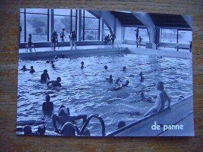 DE PANNE - LA PANNE -Overdekt zwembad-Piscine couverte-Dag van de toerist 1973