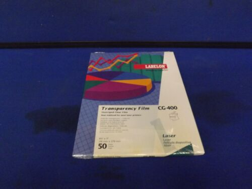 Labelon Transparency Film CG-400 - 50 Sheets 2 FOR 20.00