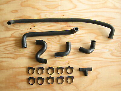 Used Jeep Grand Wagoneer Air Injection Bypass Hose set 1986-91 V-8 360cu