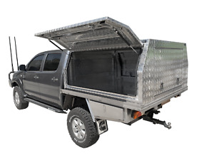 Canopies Checker Plate, $20 p/w Dog box, Canopy, Toolboxes, Townsville Garbutt Townsville City Preview