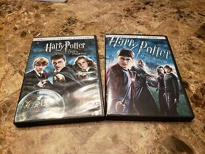 Harry Potter And The Order Of The Phoenix + Half-Blood Prince DVD
