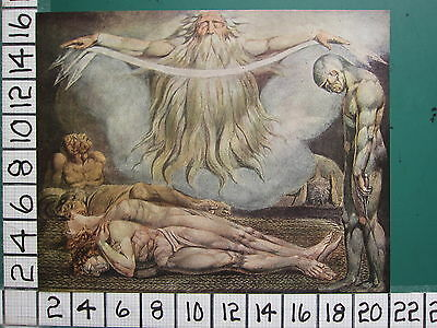 1945 WILLIAM BLAKE PRINT ~ THE HOUSE OF DEATH