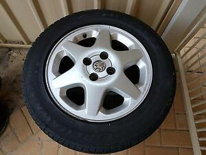 3x Tyres with Rims Huntingdale Gosnells Area Preview