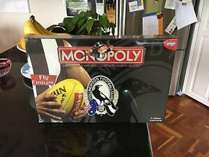 Collingwood Football Club Limited Edition Monopoly Game Balwyn North Boroondara Area Preview
