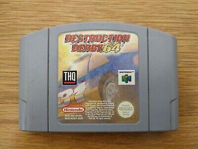 Destruction Derby 64 (Nintendo 64 N64) PAL Cart Only