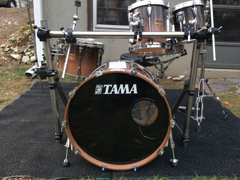 Tama Artstar Custom Smokey Lavender 6 Piece Kit In Really Good Condtion