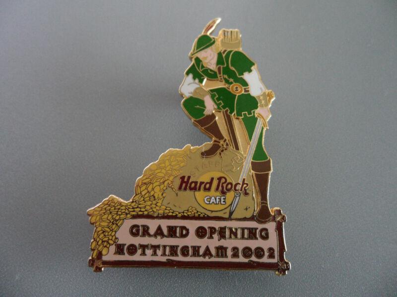 Hard Rock Cafe Nottingham - Grand Opening Robin Hood - STAFF Members Pin #13470
