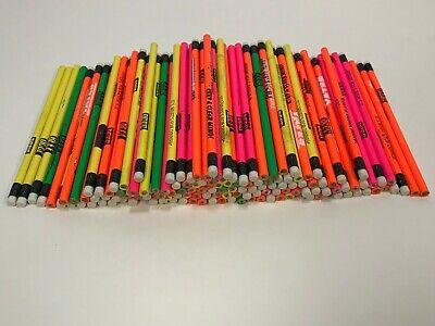144 Lot Misprint Pencils with Vinyl Eraser #2 Lead, Bulk Wholesale Lot, 144 ct