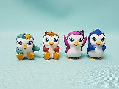 DeAgostini Magiki Pinguine 4 Stück - Carina, Betty, Todd & Ella