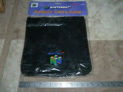 NINTENDO 64 N64 OFFICIAL CONSOLE SYSTEM CARRY CASE MESSENGER BAG CASE BRAND NEW! for sale  Kettering