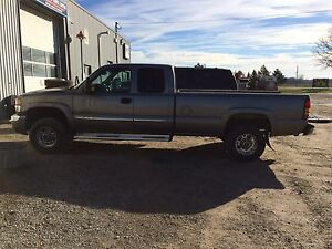2006 2500hd diesel, possible trade for 1500