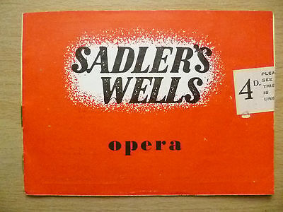 Sadler's Wells Opera Season 1947- HANSEL AND GRETEL,LES RENDEZVOUS