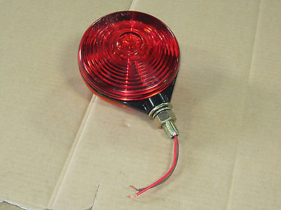 Red And Yellow Rear Flashing Light For Ih International 154 Cub Lo-boy 184 185