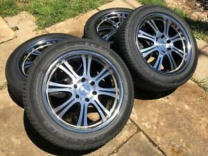 4 x Black Rhino 'SG67 20x9J Hard Alloys' Wheels (Rims Tyres)