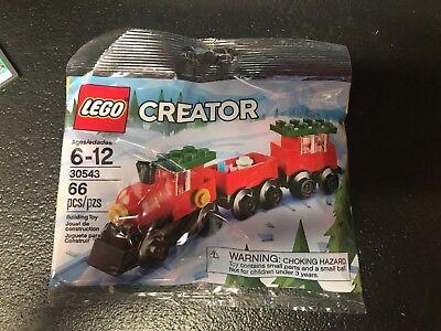 LEGO 30543 Creator Christmas Train Polybag Seasonal Set