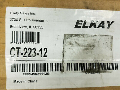 Elkay Ct-223-12 52cm 4 Pack Of Stainless Steel Legs For 12 Deep Tub Sinks