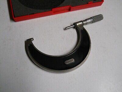 Starrett 226-4  3-4 Micrometer  Carbide Tips .0001   Used