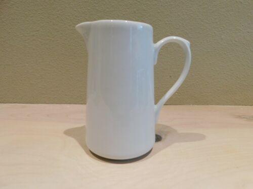 APILCO France Classic White Porcelain Cream Milk Pitcher 1 Cup
