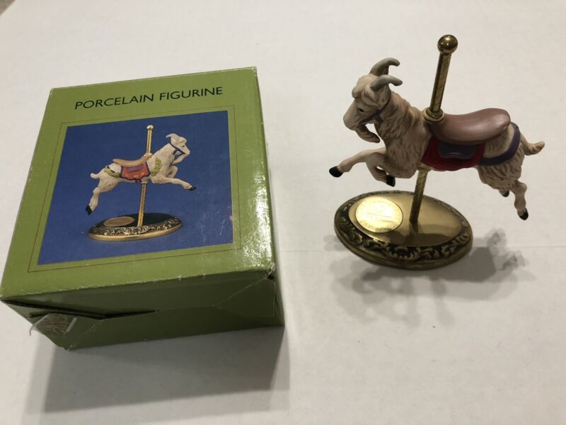 """WILLITTS DESIGNS """"THE COUNTRYSIDE CAROUSEL"""" GOAT Figurine 162/17500 Style #41051"""