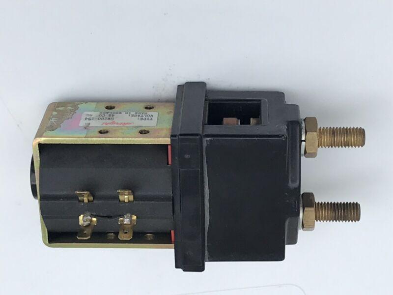Albright TYPE SW200-294 Voltage 48 Co Contractor Selenoid