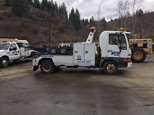 Hino fb tow truck wrecker