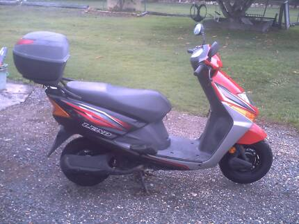 honda laed 100cc scooter one owner from new bought 2011 Pialba Fraser Coast Preview