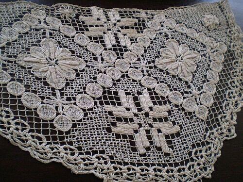 Motif Beautiful Vintage Handmade Filet Lace