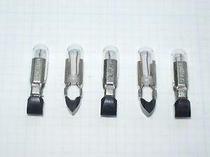 Lot de 5 ampoules T5.5k en 12V 20 mA 5 x 22 mm