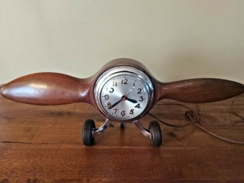 Vintage Sessions propeller Clock