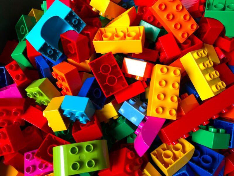 lego building blocks And Accessories 100 Piece Bundle Lot