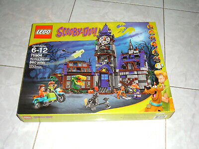 Lego Scooby-Doo! Mystery Mansion 75904 New Sealed